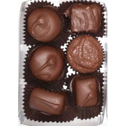 6 Piece Chocolate Box (4 oz)